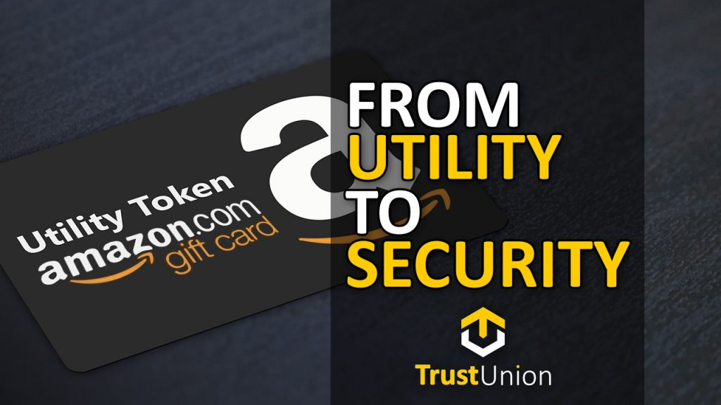 from utility to security token